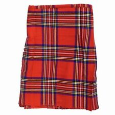 Tartan Republic Kids Unisex Royal Stewart Tartan Scottish Traditional Kilt