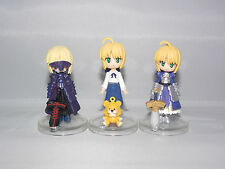 Fate Stay Night Japanese Anime Mini Saber Figures - 5.5cm