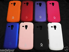 SAMSUNG S DUOS 2 S7582 / S DUOS S7562 HARD BACK COVER / CASE  RUBBERISED-TOUCH