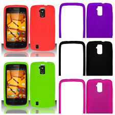 Silicone Soft Gel Fitted Case/Skin Cell Phone Protector Cover for ZTE Force