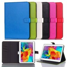 Folio Wallet Leather Stand Set Case Cover For Samsung Galaxy Tab 4 10.1 SM T530