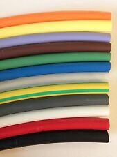 "3/8"" HEAT SHRINK TUBING POLYOLEFIN 2:1 RATIO 10FT 25FT 100FT LENGTHS"