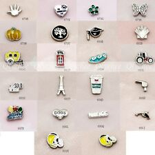 Mini Floating Charms 2014 Fashion for Glass Living Memory Lockets Free Shipping