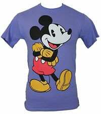 Mickey Mouse (Disney) Mens T-Shirt - Arms Crossed Vintage Mickey Image