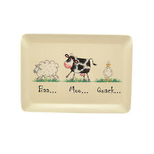 Home Farm tray Medium or Large Or Set of 2 tray cow sheep pig