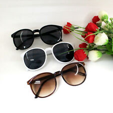 1pc Ladies Girl Summer Fashion Popular Plastic Frame Round Glasses Sunglasses