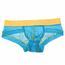 IN 7Colors Mens New Underwear Briefs Shorts Bulge Pouch Stretchy Home Trunks