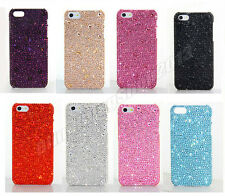 9 Colors Handmade Bling Swarovski Element Crystal Case Cover For iPhone 5 5S
