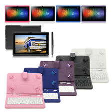 "iRulu Multi-Color 7"" 8GB Android 4.2 Tablet PC Dual Core & Camera w/ Keyboard"