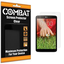 3X COMBAT HD Screen Protector Cover Shields For LG G Pad 8.3 Tablet