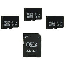 Micro SD 4GB 8GB 16GB TF Flash Memory Card SDHC MicroSD with adapter