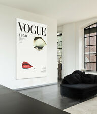 Stretched Canvas Wall Art Print Vintage Vogue Cover 1950 Marilyn Monroe