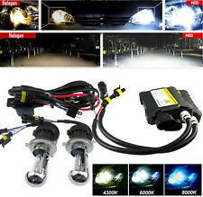 Slim Ballast BI-Xenon HID Replace Headlight H4 H/L Kit Lights 4300K 6000K 8000K