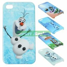 FROZEN cute Snowman Olaf Phone Cover Full Printed Case for iPhone 4/4s/5/5s
