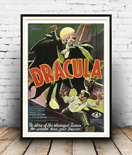 Dracula  : Old Horror film Poster reproduction