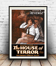 House of Terror Revenge  : Old Horror film Poster reproduction