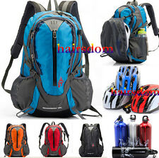 Cycling Backpack Riding Waterproof Bag Outdoor Portable Folding Helmet Cup New