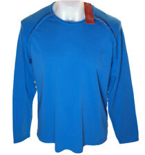 Bnwt Men's French Connection Long Sleeved T Shirt Top Blue New Fcuk
