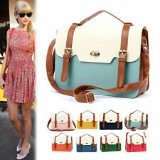 New Women Ladies Messenger Satchel Bag Totes Cross Body Square Shoulder Handbag