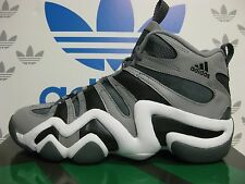 NEW ADIDAS Crazy 8 Men s Basketball Shoes - Grey White  G48589 81407bb8b
