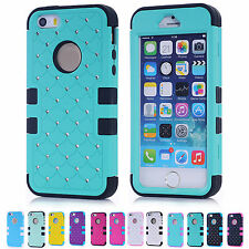 SALE Cheap Cute dots Sweet Color Back Skin Phone Hard Case Cover For iphone 5S