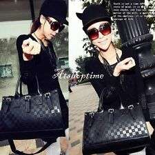 Women Handbag Shoulder Bag Tote Purse New Fashion PU Leather Messenger atst