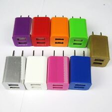 Dual Ports 2.1A 1A USB Wall Home AC Charger US Adapter for phone and tablet
