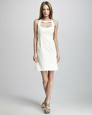 NANETTE LEPORE 'Santa Monica' Cut Out Eyelet Lace Mini Dress - Ivory Orig.$298