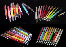 11 COLOR TOP QUALITY CRYSTAL PEN BALLPOINT SWAROVSKI STYLE ELEMENTS TRAVEL POUCH