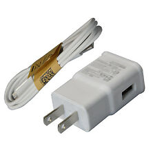 5V 2A Travel Wall Charger MICRO USB Cable For Samsung Galaxy S4 S3 NOTE 2 i9500