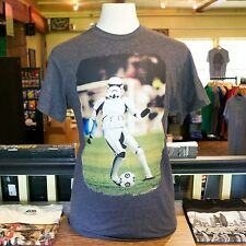 Star War's Stormtrooper Kicks Ball Men's T-shirt