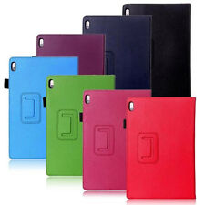 "PU Leather Folio Stand Cover Case for 10.1"" Lenovo A10-70 A7600 Tablet"