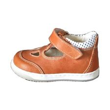 Baby First Walking Shoes HandMade in Italy - Orange