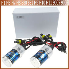 2X35W Car HID Xenon Lamp Light  H1H3 H7 881H8 H9 H10 H11 9004 3000K-12000K