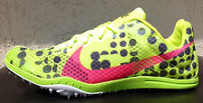 Womens Nike Zoom W4 Track & Field Cleat/Spikes Size 6.5/7/10 Bolt/Pink