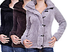 IN AND OUT Teddy Fleece jacket sweatjacket