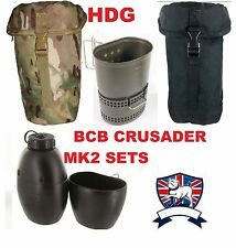 NEW BCB BRITISH ARMY CRUSADER COOKING SYSTEM MK2 DRAGON MUG STOVE OSPREY BOTTLE
