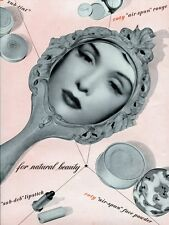 4694.Coty.woman in mirror.natural beauty.make-up.POSTER.decor Home Office art