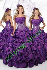 Stylish Prom Quinceanera Dress Sexy Wedding Dresses Party Gowns Ball Gown A Line
