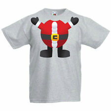SANTA - Father Christmas / Festive / Fun / Novelty Children's Themed T-Shirt