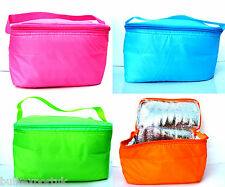 Small Insulated Lunch Bag Cool bag Cooler Party Picnic Beach Travel baby Beach