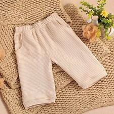 100% Pure Coloured Cotton Baby Infant Beach Pants Newborn Short Trousers Summer