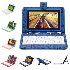 "iRulu 7"" Android 4.2 8GB Tablet PC Dual Core&Cam WIFI Blue w/ Cartoon Keyboard"