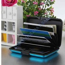 Colorful Waterproof Aluminum Metal Business Credit Card Wallet Holder Case Box