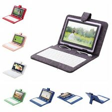 "iRulu 7"" Android 4.2 8GB Dual Core Tablet PC Cameras Purple w/ Cartoon Keyboard"