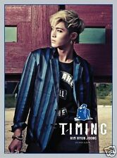 Kim Hyun Joong [Timing] CD 4th Mini Album Poster Gift Kanto & Phantom 김현중 SS501
