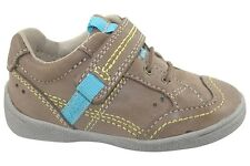 Start Rite Super Soft Sam Brown Leather Boys Shoes Sizes 3 4 5.5 6 F or G