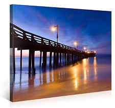 Stretched Canvas Print - OUT INTO THE DAWN Large Beach Wall Art s3783