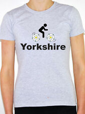 YORKSHIRE - Cycling / Rose / County / Biking / Tour / Fun Themed Women's T-Shirt