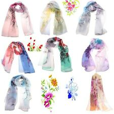 NEW Hawaii Style Girl Shawl Chiffon Tippet Wraps Beach Swimsuit Scarves Tippet W